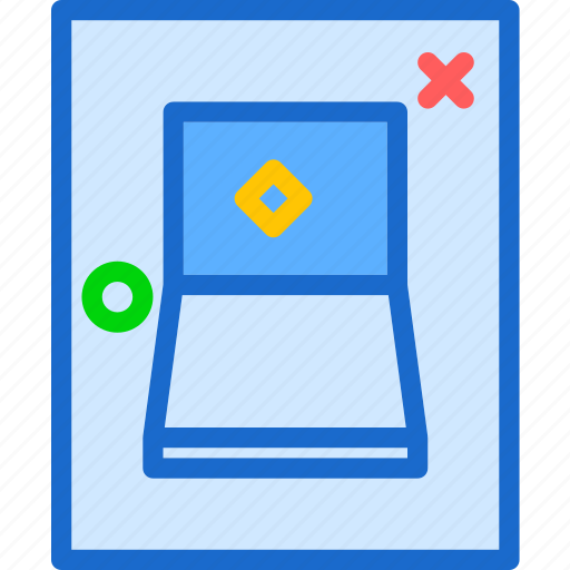 buttons, press, switch icon
