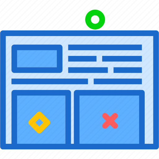 interface, page, website icon