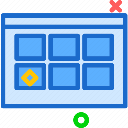 gallery, interface, pic, thumbnail icon
