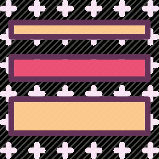 arrange, layers, list, order, rows icon