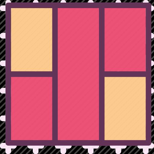layout, style, stylishcolumn, table, view icon