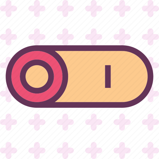 buttonsbutton, buttonser, light, off, on icon