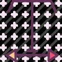 edit, widthtext, write icon