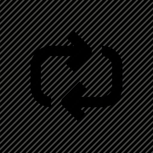 arrow, arrows, repeat, rotation, shuffle icon
