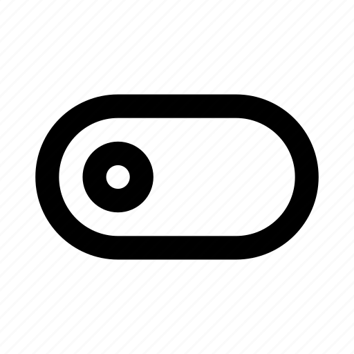 on, switch, turn icon