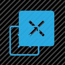 interface, mark, ui, user, x icon