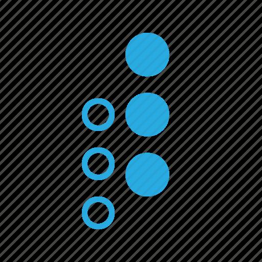 interface, menu, ui, user, vertical icon