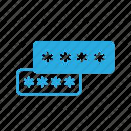 interface, password, security, ui, user icon