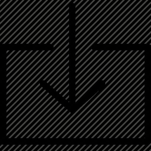 arrow, backup, box, copy, creative, data, direction, down, download, exchange, grid, guardar, information, interface, internet, line, move, net, receive, save, send, shape, transfer icon