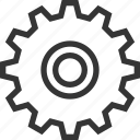 cogwheel, engineering, gear, industrial, mechanism, settings, work icon