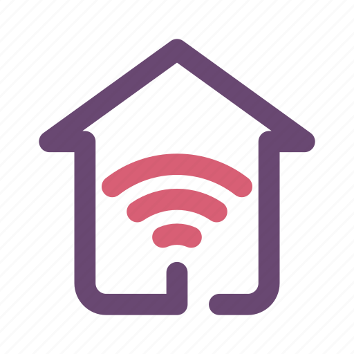 home, home internet, wifi icon