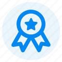 award, favorite, interface, member, star, trophy, winner