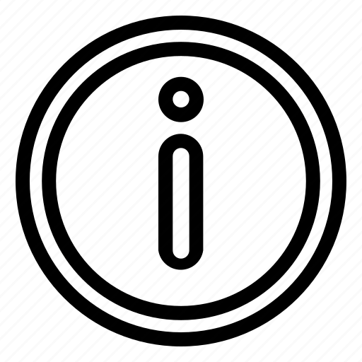 Info, help, notice, information icon - Download on Iconfinder