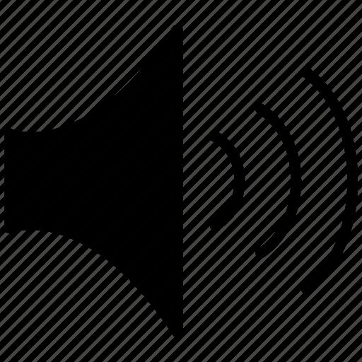 Audio, sound, up, volume, volume up icon - Download on Iconfinder