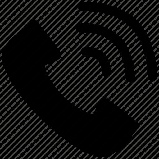 call, communication, phone, talk, telephone icon