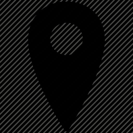 address, gps, location, map, navigation, pin, pointer icon
