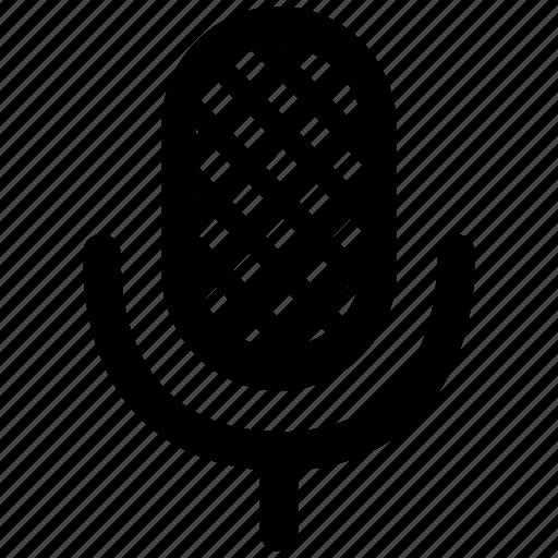 audio, media, mic, microphone, music, recording, sound icon