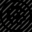 cog, circle, work, frame, gear, settings, machine