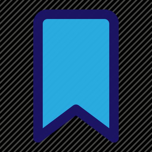 book, bookmark, tag, web icon