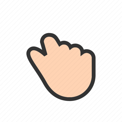 catch, cursor, hand, hold, pause, select, touch icon