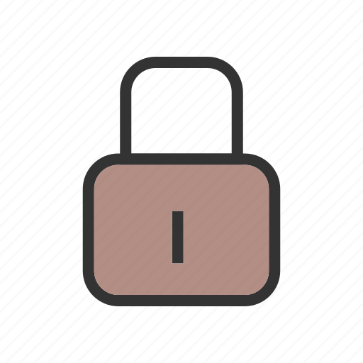 computer, lock, padlock, privacy, protect, secure, security icon