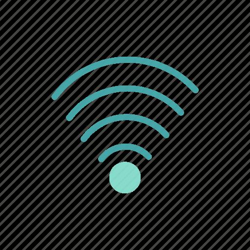 connection, interface, internet, network, wifi, wireless lan icon