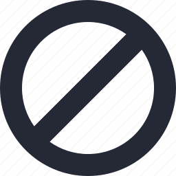 black list, block, cancel, lock, stop icon