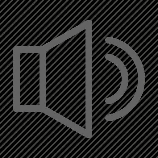 Sound, speaker, loudspeaker icon - Download on Iconfinder