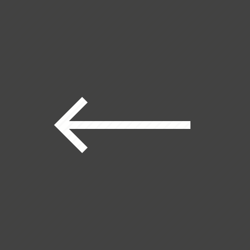 arrow, direction, internet, left, navigation icon