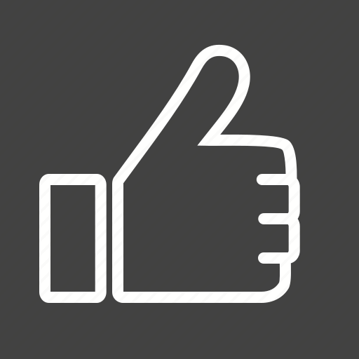 facebook, hand, like, social, success, thumb, up icon