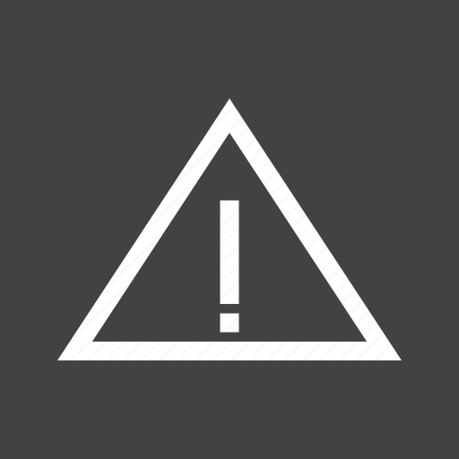 Attention, caution, danger, exclamation, triangle, warning icon - Download on Iconfinder