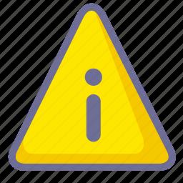 notice, notification, warning icon