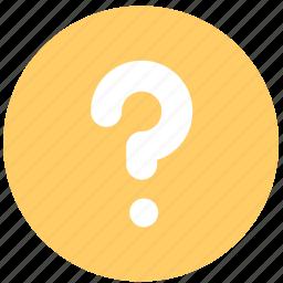 faq, faqs, help, question, support icon