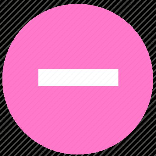block, cancel, delete, prevent, stop icon