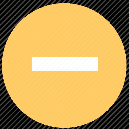 block, cancel, delete, no, prevent, stop icon