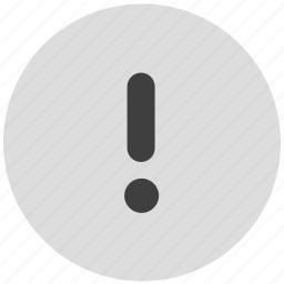attention, caution, error, important, warning icon