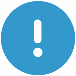 alert, attention, caution, important, message, notification, warning icon