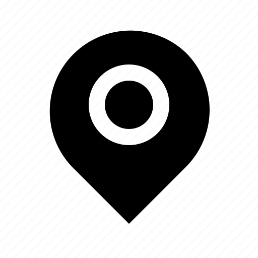 location, marker, pin, pointer icon