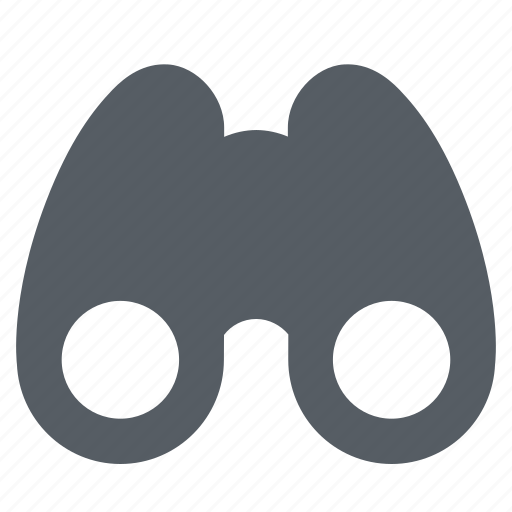 binoculars, discovery, optical, search, view, vision icon