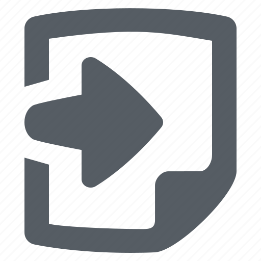 document, file, import, interface icon