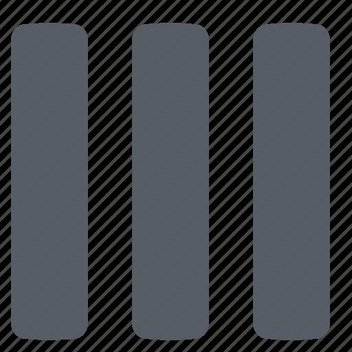 columns, edit, interface, ui icon