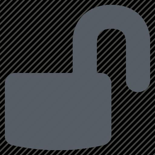interface, open, unlock icon