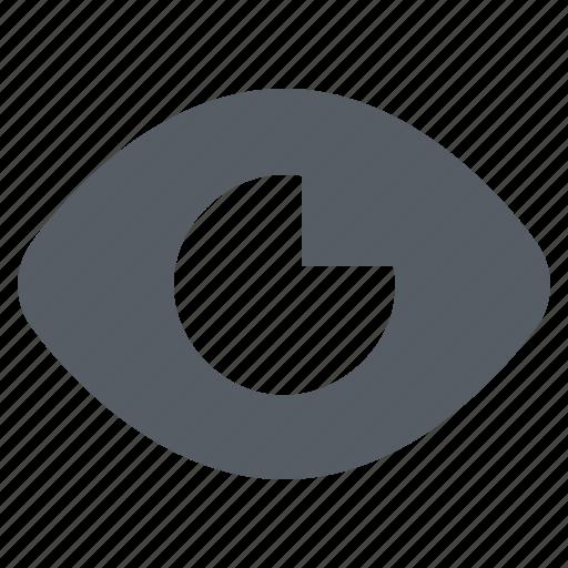 eye, interface, preview, view icon
