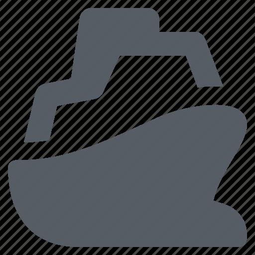 Boat, cruise, sailing, ship, transportation, travel icon - Download on Iconfinder