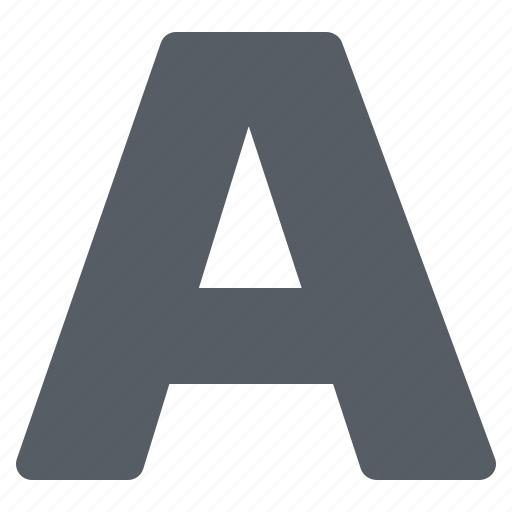 Font, interface, text, typeface icon - Download on Iconfinder