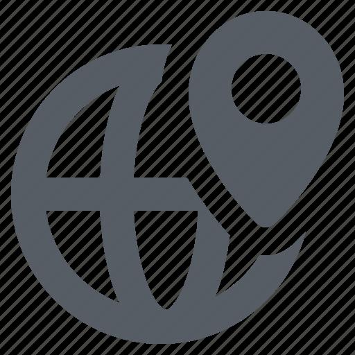 Destination, globe, location, travel, world icon - Download on Iconfinder