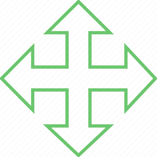 arrow, cursor, move, pointer, target icon