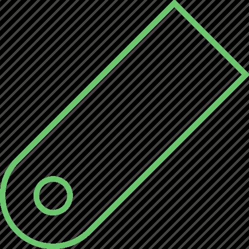 bookmark, fasten, label, mark, tag icon