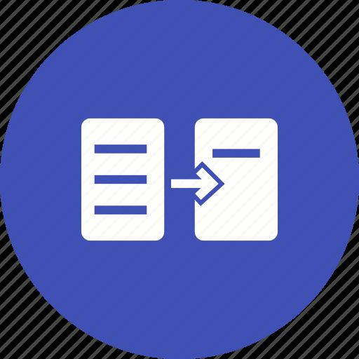 communication, data, files, information, internet, transfer icon