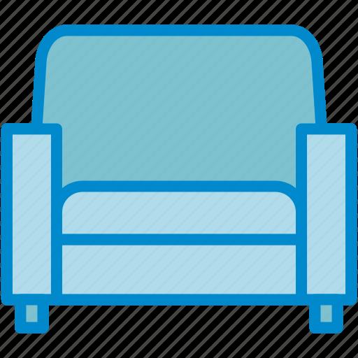 armchair, chair, furniture icon